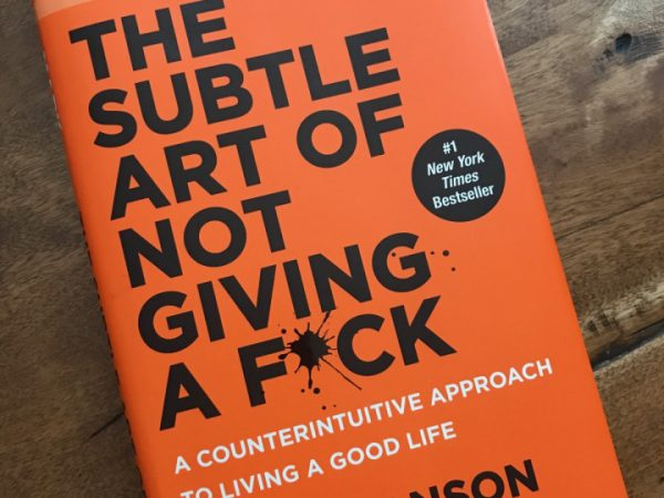 The subtle art of not giving a f*ck (Best of self improvement books for 2021)